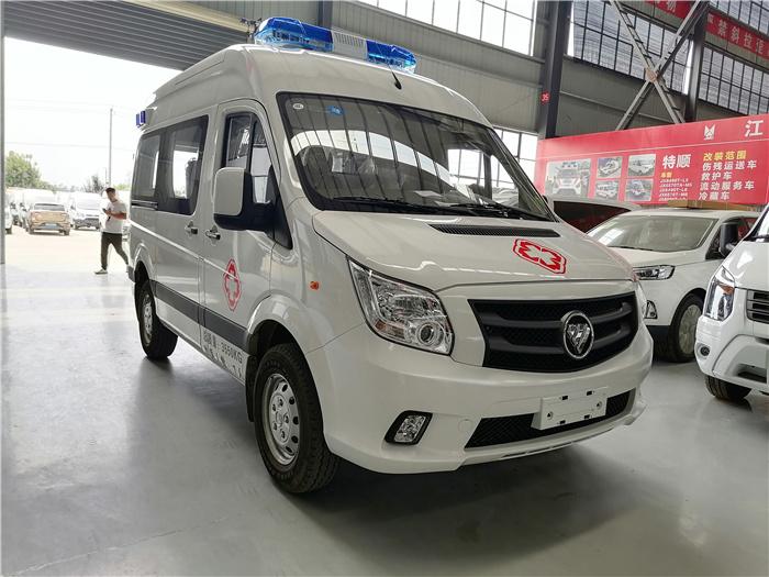 监护型救护车参数_福田G7救护车_多少钱一辆