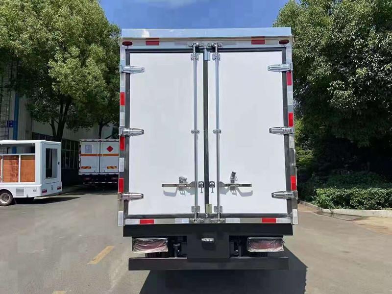 国六蓝牌冷藏车报价|4米2冷藏车多少钱|蓝牌厢式冷藏车价格|冷藏车厂家价格