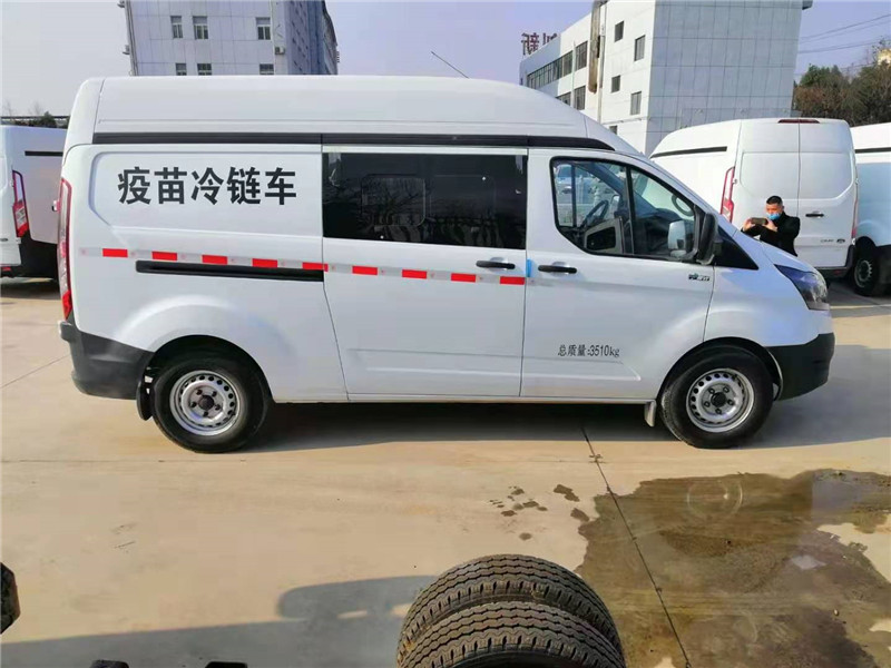 国六疫苗冷链车——江铃福特新全顺疫苗冷链车