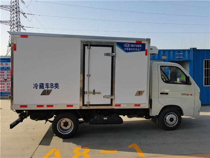 国六福田祥菱M1汽油7.6方药品疫苗冷链车