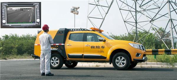 高压电缆检测用电力检修车