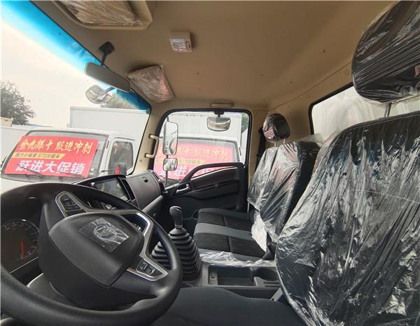 陕汽德龙冷藏车驾驶室